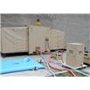 EISU Combo Shower and Latrine Unit in Tan