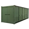 Mobile Expandable Configuration Container (MECC) Double Door in green