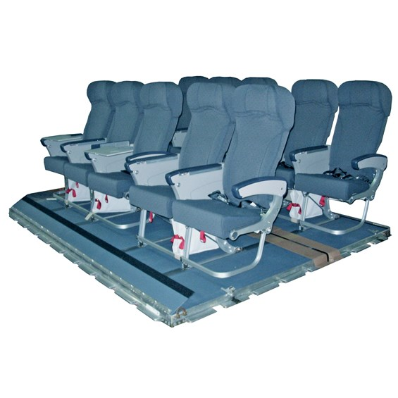 10-Passenger Seat Pallet Centerline Seating for C-17 Aircraft