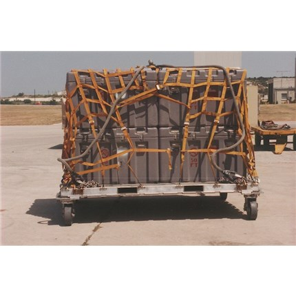 HCU-15/C Top Restraint Net in Yellow for 463L Pallets