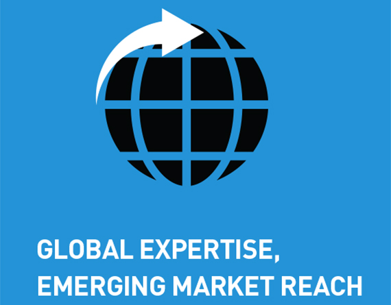 Global Expertise, Emerging Market Reach