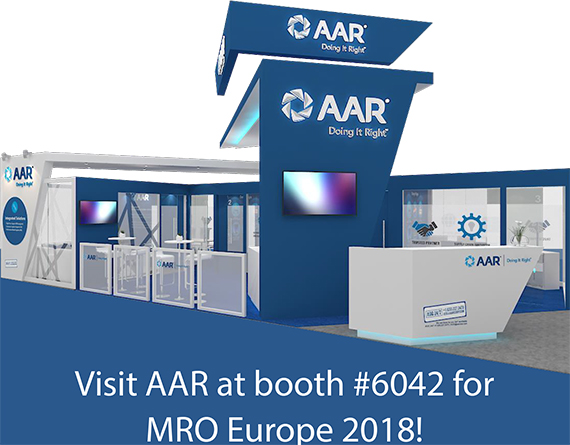 Visit AAR at MRO Europe