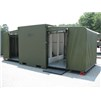 EISU Combo Shower and Latrine Unit in Green