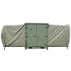 Expandable Small Air Mobile Shelter (ESAMS) in green