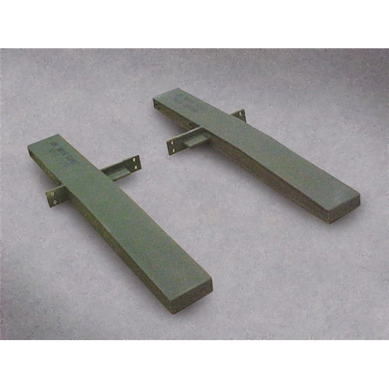 High Speed Mobility Wheel Set Adapter Rails in Green