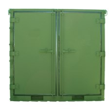 ISU<sup>&reg;</sup> 90EO with 2 doors on one side in Green