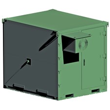Small Air Mobile Shelter (SAMS) in green